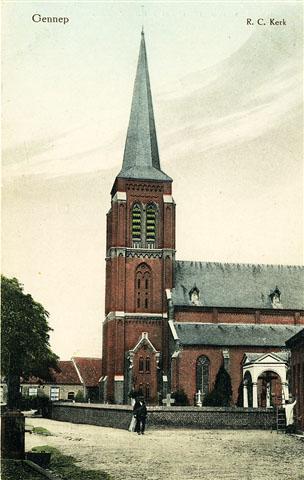2 st. martinuskerk omstreeks 1920 smallt